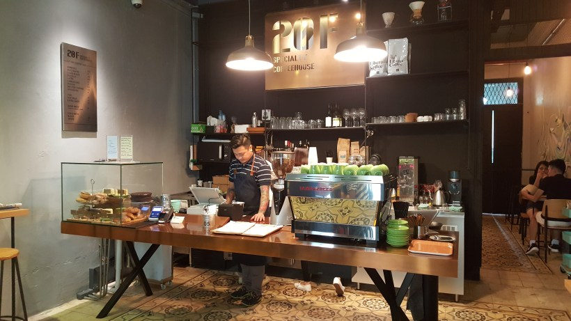 20F Specialty Coffeehouse - Counter