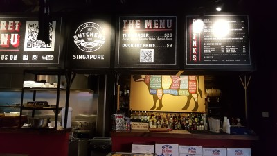 The Butchers Club Singapore - The Counter