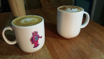 Free The Robot Cafe - Cappuccino & Hot Chocolate