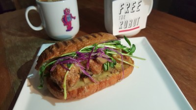 Free The Robot Cafe - Surf & Turf Meatballs Sandwich
