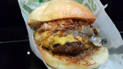 South Bronx Burger - The Unami ($11)