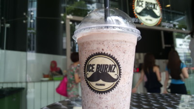 Ice Burnz - Nutella Milkshake ($7)