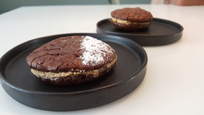 The Punch Cafe Singapore - Espresso Butter Cream Brownie Cookie ($5.35)