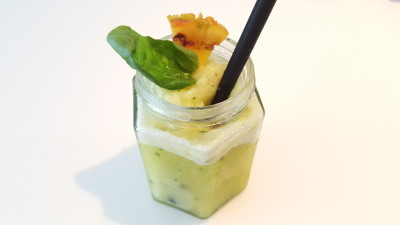 The Punch Cafe Singapore - Pineapple Slushie