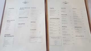 The Bakehouse By Carpenter And Cook - Menu
