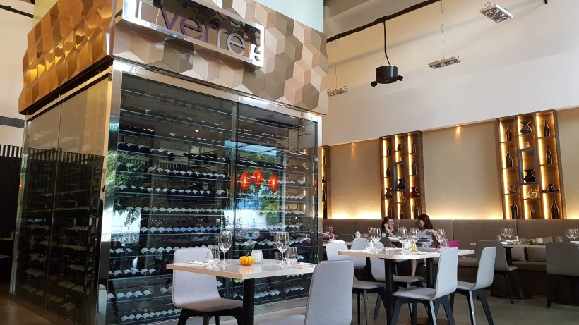 Verre Modern Bistro And Wine Bar - Interior, view from the door step