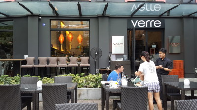 Verre Modern Bistro And Wine Bar - Al Fresco Seats and Facade