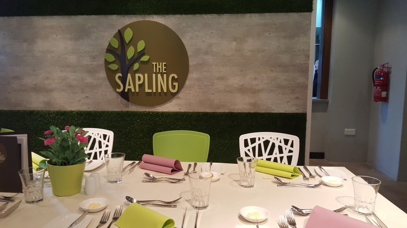 The Sapling, SHATEC Training Restaurant - Interior of the Restaurant, By the back