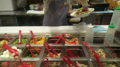 Toss & Turn Salad Bar By Cedele - Veggie / Crunch Selections