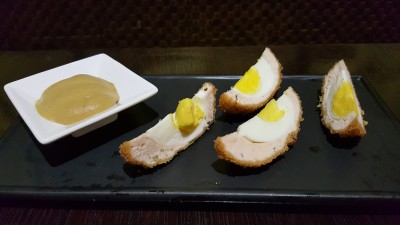 The Buffet Egg-Xperience by Street 50 Restaurant and Bar - Scotch Eggs with Mustard Sauce