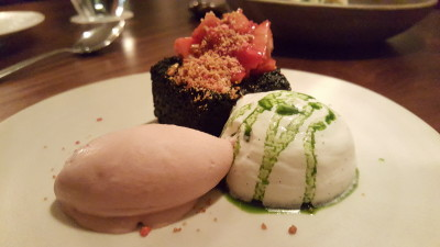 Cheek By Jowl At Boon Tat Street - Black Olive Cake ($15)