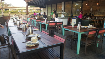 Mookata At ORTO Park - Al Fresco Seating area