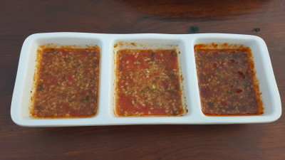 Mookata At ORTO Park - Special Chilli Sauce with different spiciness level