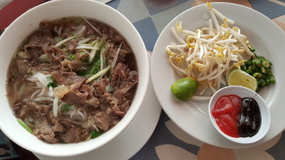 Do An Vietnamese Restaurant Jakarta - Pho Bo Chin, Noodle Soup with Beef (Rp 59,500)