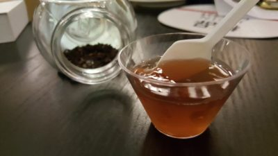 Ippin Cafe Bar At Mohammad Sultan, Robertson Quay, Singapore - Darjeeling Tea Jelly