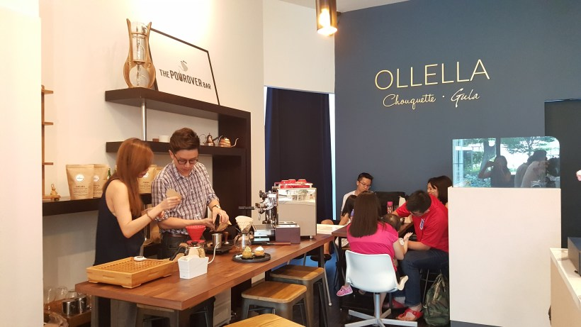 Ollella And The Pourover Bar At Somme Residence, Farrer Park, Singapore - An overview of both Ollella and The Pourover Bar