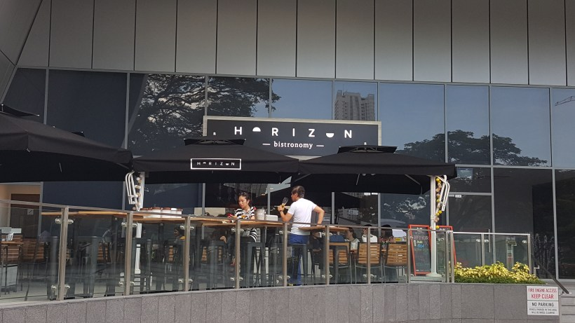Horizon Bistronomy At Alexandra Road, Labrador Park, Singapore - Al Fresco Seating Area