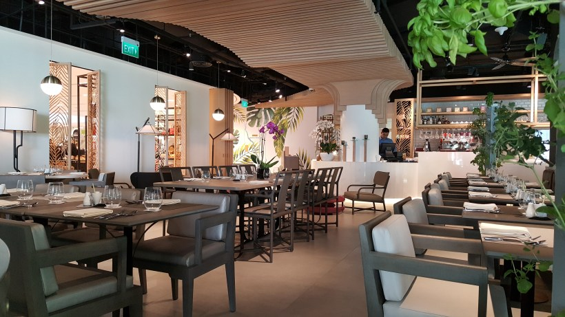 Angela May Food Chapter At The Hereen, Orchard, Singapore - Interior View from the Back