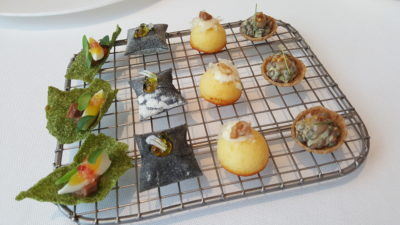 Odette By Chef Julien At National Gallery Museum, City Hall, Singapore - Chef's Special Canapes