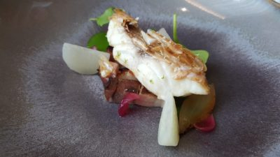 Odette By Chef Julien At National Gallery Museum, City Hall, Singapore - Act 3, Crispy-Skinned Wild Snapper