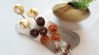 Odette By Chef Julien At National Gallery Museum, City Hall, Singapore - Petite Fours