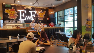 Characters Theme Cafe In Singapore - Pokemon Cafe @ EWF