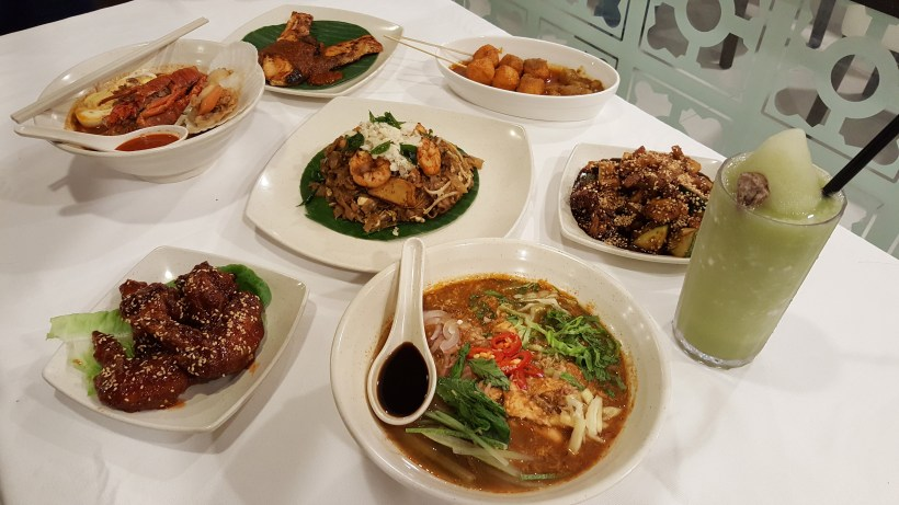 Penang Culture, Halal Restaurant, Changi Airport Terminal 2, Singapore - Our feast