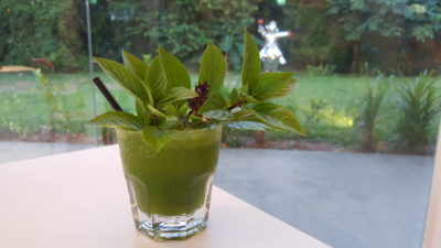 MoCA Cafe At Loewen, Dempsey, Singapore - Basil and Mint Drink