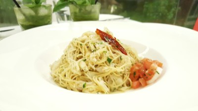 MoCA Cafe At Loewen, Dempsey, Singapore - Angel Hair Crabmeat ($22)