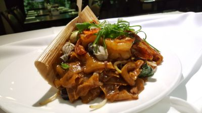 Street 50 Brand New All Day Dining Menu At Bay Hotel, Harbourfront, Singapore - Oyster Char Kway Teow ($12.90)