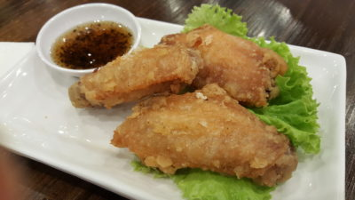 Pho Street New Dish Bun Cha At Bedok Mall - Crispy Fried Chicken Mid-wings served with Caramelised Sweet Dip ($4.90 / 3 pcs)