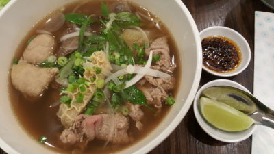Pho Street New Dish Bun Cha At Bedok Mall - Pho Beef Combination ($9.90)