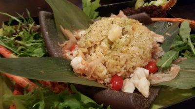 Spice Brasserie's Union of Crabs and Lobsters Dinner Buffet At Parkroyal On Kitchener - Japanese Lobster Fried Rice