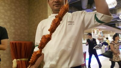 Spice Brasserie's Union of Crabs and Lobsters Dinner Buffet At Parkroyal On Kitchener - Tandoori Crayfish