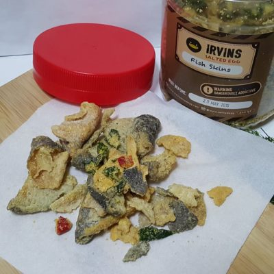 Salted Egg Snacks In Singapore - Irvins Salted Egg Fish Skins ($15)