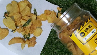 Salted Egg Snacks In Singapore - Irvins Salted Egg Potato Chips ($15)