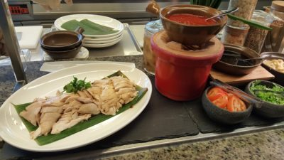 Hawker Fare Buffet At Makan @ Jen, Hotel Jen Orchardgateway, Somerset, Singapore - Hainainese Chicken Rice