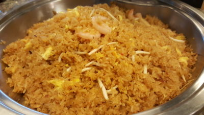 Hawker Fare Buffet At Makan @ Jen, Hotel Jen Orchardgateway, Somerset, Singapore - Chef's Signature Laksa Fried Rice