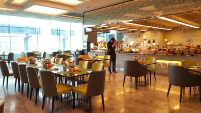 Hawker Fare Buffet At Makan @ Jen, Hotel Jen Orchardgateway, Somerset, Singapore - Interior Dinning area