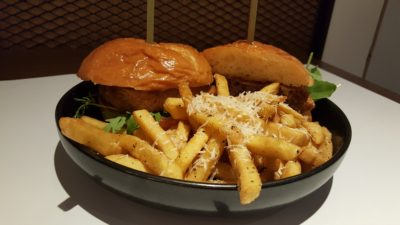 Froth Shifted To Ascott Raffles Place Singapore - Five Spice Wagyu Patty Burger ($34.90++)