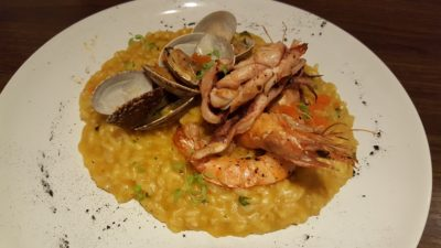 Froth Shifted To Ascott Raffles Place Singapore - Seafood Tom Yum Risotto ($29.90++)