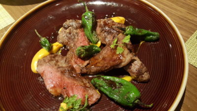 UNA At One Rochester New Menu, Singapore - Pluma Iberica ($38)