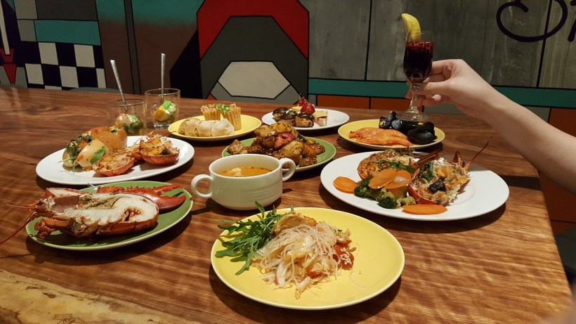 J65 Eat Through The Week at Hotel Jen Tanglin Singapore - Some Wednesday Lobster Buffet Spread