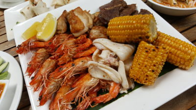 Street 50 Singapore Food Story at Bay Hotel Singapore - Grilled Seafood and Meat