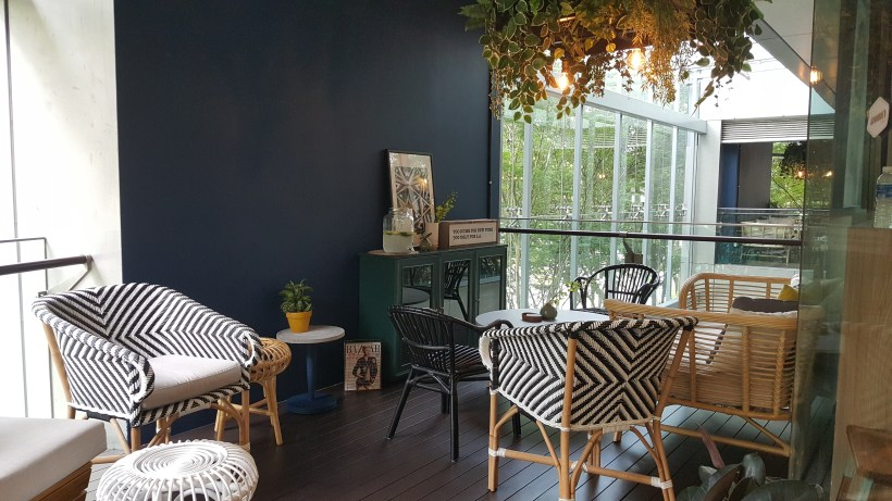 Grounded By CMCR at Robertson Quay, Singapore - A cosy corner