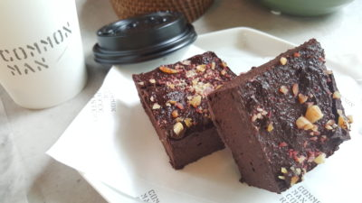 Grounded By CMCR at Robertson Quay, Singapore - Beetroot Chocolate Brownie ($8)