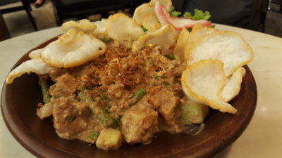 Warung Koffie Batavia At Grand Indonesia, Jakarta, Indonesia - Gado Gado, another view