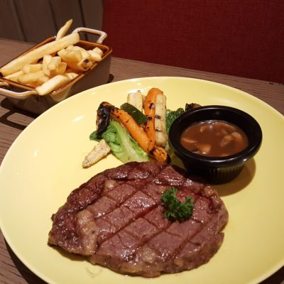 Socieaty By Les Amis Group At Plaza Indonesia, Jakarta, Indonesia - Wagyu Ribeye, 220g (IDR 350k)