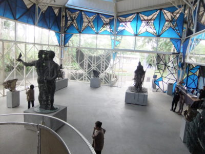 NuArt Sculpture Park at Bandung, Indonesia - NuArt Sculpture Park Building Level 1