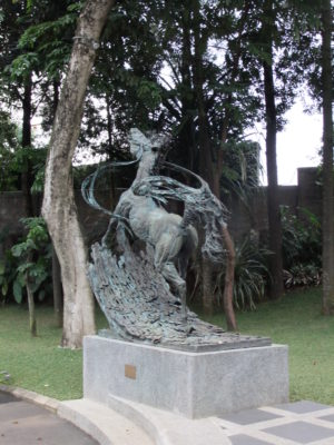 NuArt Sculpture Park at Bandung, Indonesia - Horse Sculpture